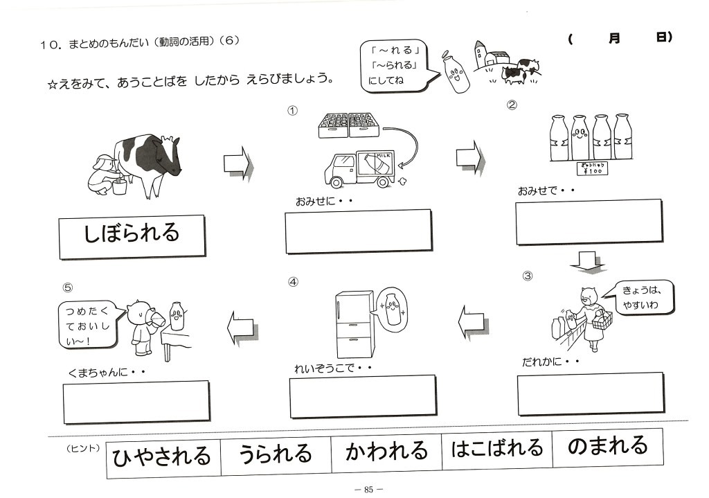 Images of 使役動詞 - JapaneseClass.jp